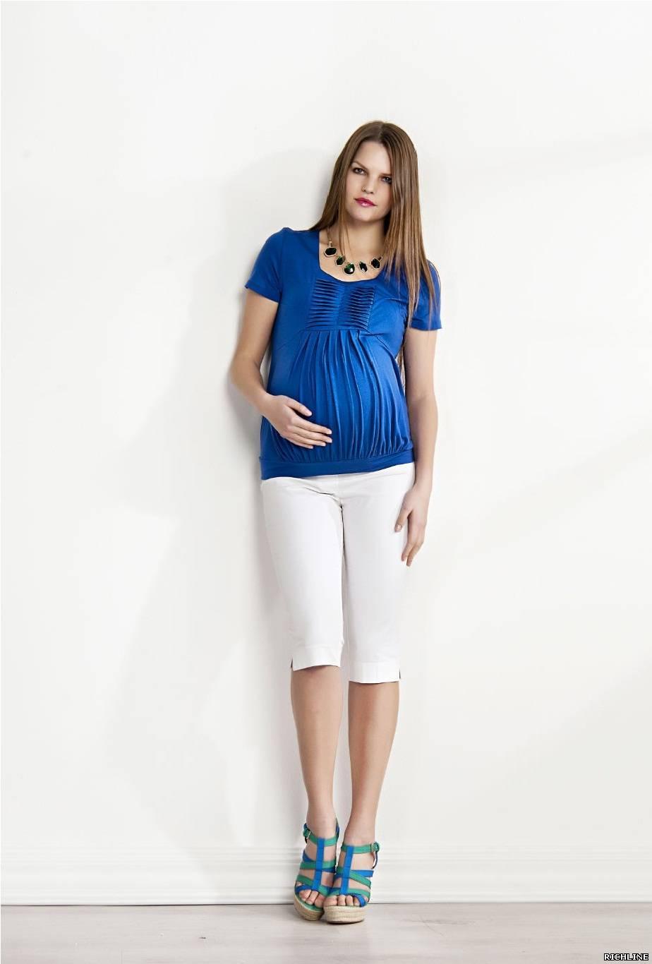 Мода для беременных весной фото